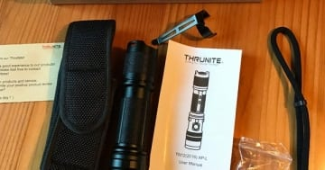 Lieferumfang: ThruNite TN12-2016-XP-L-Max-1100-Lumen-2-600